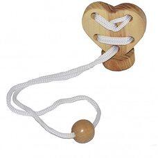 Шнуровка «Сердце на подставке»