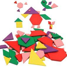 Мозаика из геометрических фигур