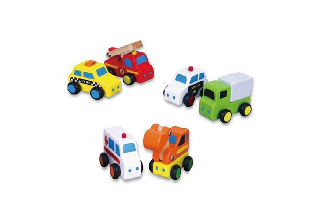Машинки из серии «Транспорт»