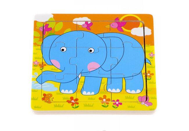 Пазл «Синий слон»