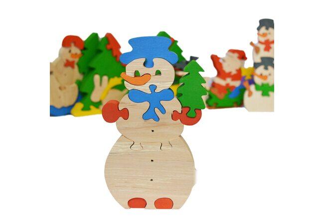 «Спешу на праздник» 3D пазл, 11 дет.