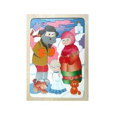 Мозаика по сказке «Снегурочка», 60 дет.