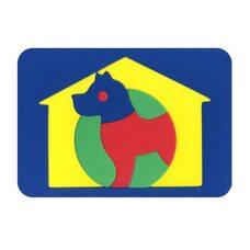 Мозаика  «Собака»