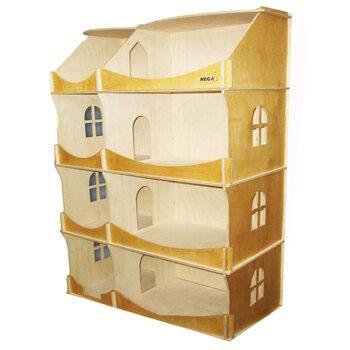 Кукольный домик-шкаф, 4 эт