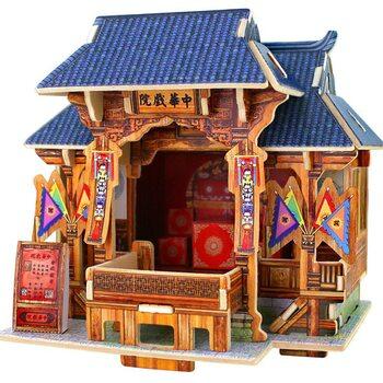 Театр (Китай), сборная модель.