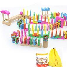 Цветной конструктор-домино «Тигрята», 110 дет.