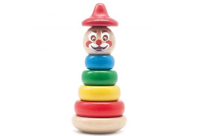 Пирамидка «Клоун Тишка»