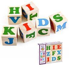 Кубики «Английский алфавит», 12 шт