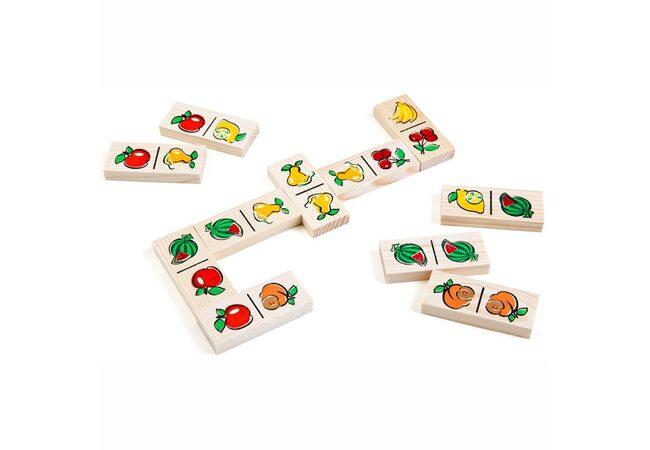 Игра домино «Ягоды-фрукты»