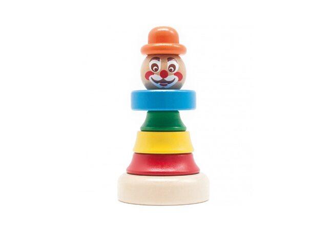 Пирамидка «Клоун Тошка»