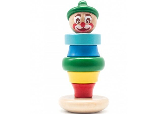 Пирамидка «Клоун Тотошка»