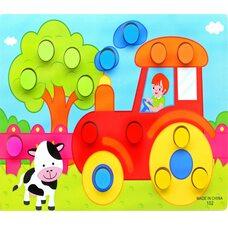 Забавные картинки «На тракторе»
