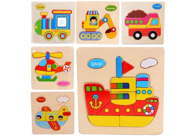 Пазлы для малышей «Транспорт»