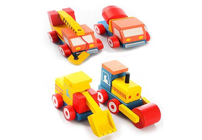 Машинки из серии «Стройтехника» (поштучно)