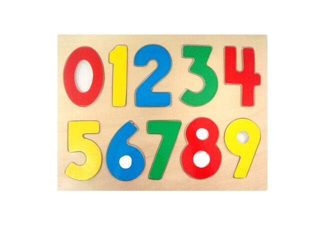 Цветные цифры цвета.