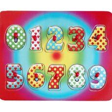 Рамка-вкладыш «Цифры» от 0 до 9