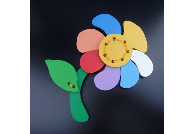 Шнуровка «Цветик-семицветик»