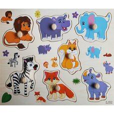 Рамка-вкладыш «Забавные животные»