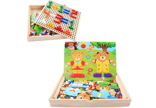 Игра «Гардероб» + мозаика