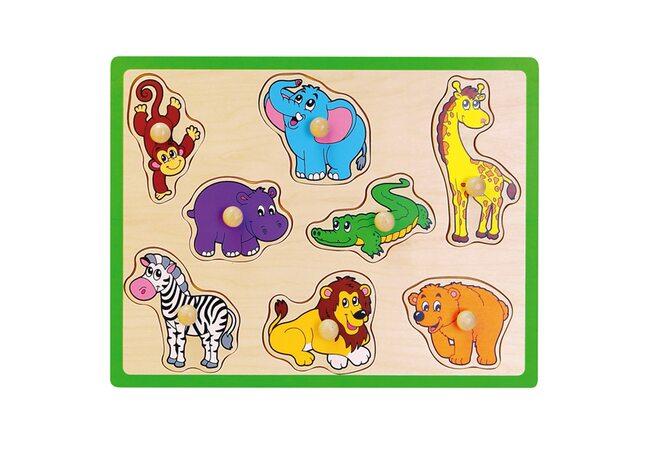 Красочные вкладыши «В зоопарке»