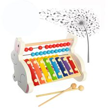 Счеты-ксилофон «Зайчики»
