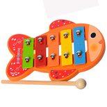 Мини-ксилофон «Рыбка», 5 тонов