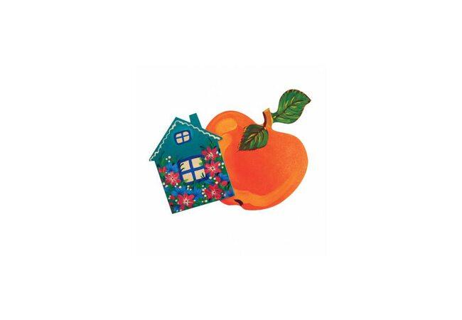Набор для творчества «Яблоко, домик»