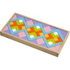 Мозаика «Узоры», цветная