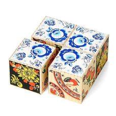 Сувенирные кубики «Узоры»