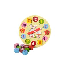 Часы-геометрия «Зайка»