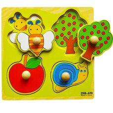 «Сад», рамка вкладыш на 4 дет