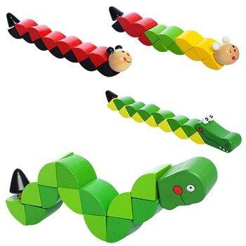 Деревянная головоломка «Змейка»
