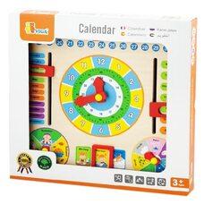 Часы-календарь на английском