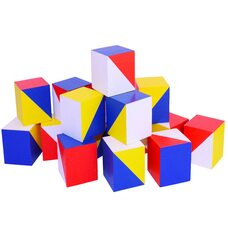 Методика Никитина Сложи узор. (Кубики 3х3)