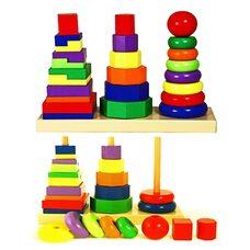 Большой набор пирамидок