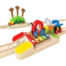 Музыкальная железная дорога, 17 дет.