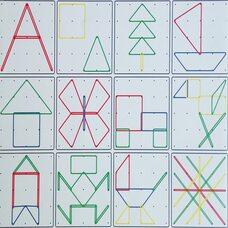 Математический планшет «Фантазируем» 5х5
