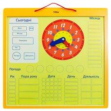 Познавательный календарь (укр. яз.), магнитный