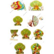 Шнуровка «Чудо дерево», 100 дет.