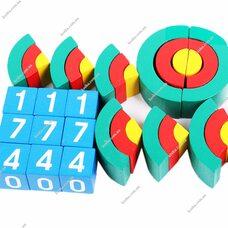 Игровой набор Дары Фребеля. Комплект 14 - Арки и цифры.