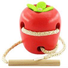 Детская шнуровка «Яблоко»