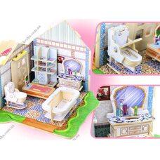 «Ванная комната», дом конструктор с мебелью, 81 дет.