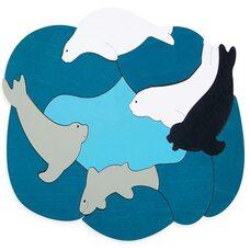 Мозаика «Антарктида», двухслойная, 34 дет.