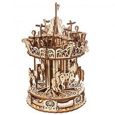 Механическая 3D-модель «Карусель», 300 дет.