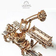 Механическая 3D-модель «Манипулятор на рельсах», 354 дет.