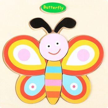 Butterfly (пазл детский)