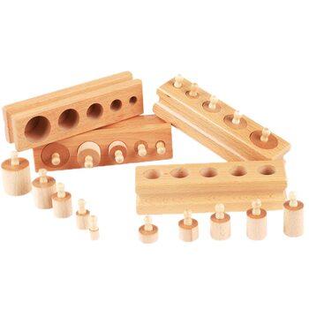 Блоки с цилиндрами-вкладышами (лакированные)