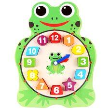 Часы-вкладыши «Лягушка»
