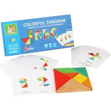 Головоломка «Танграм», 50 карточек.