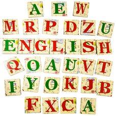 Магнитный набор «Английский алфавит»